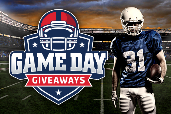 Game Day Giveaways